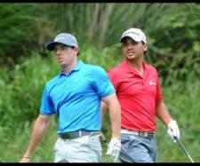 Rory McIlroy & Jason Day (cortesía USPGA)