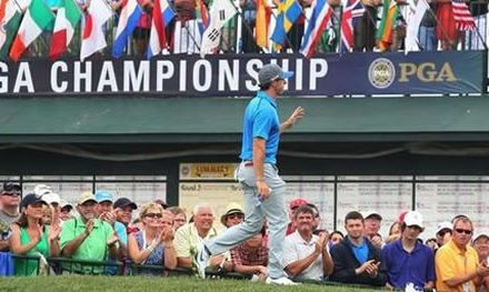 Rory adelante por un golpe en el PGA Championship