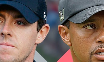 Rory McIlroy vs Tiger Woods