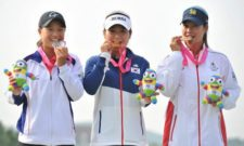 Surcorea impresiona en inicio de Golf Mixto (cortesía english.jschina.com.cn)