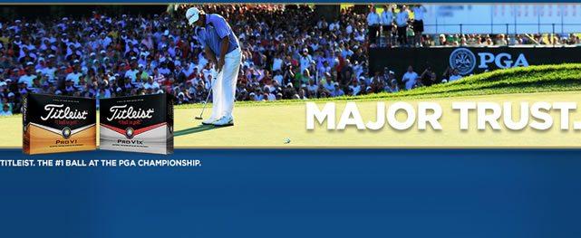 Titleist: La pelota N°1 en el PGA Championship