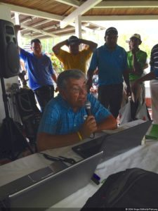 Torres líder en el Nacional de Caddies