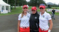 El equipo mexicano femenil que participa en el Campeonato Mundial Amateur de Golf por Equipos (WATC) (cortesía carrillo180.com)