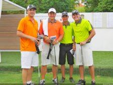 Mike Dunne, Luis Picard-Ami y Carlos Raul Barriga; Campeones del Faydola Invitational 2014