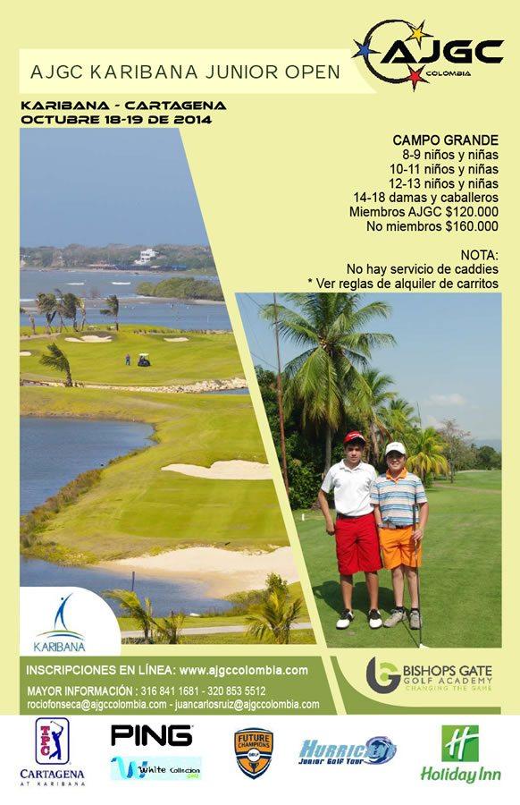 Cierre de inscripciones AJGC Karibana Junior Open