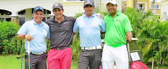 Con gran éxito celebran convivio de la Asociación Nacional de Empleados Golfistas