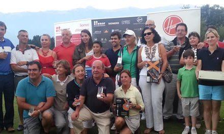 """El campo de golf de Llanes acoge la """"Prueba especial Hoover"""", para clausurar el Circuito Cenor-Camino de Santiago en Asturias"""