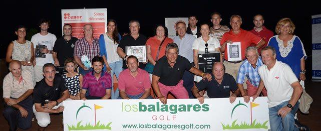 Golfistas asturianos compiten para clasificarse en la final del VII Circuito Cenor-Camino de Santiago