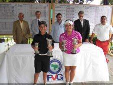 Campeones Nacional Infantil Gabriel Restrepo & Claudia Perazzzo