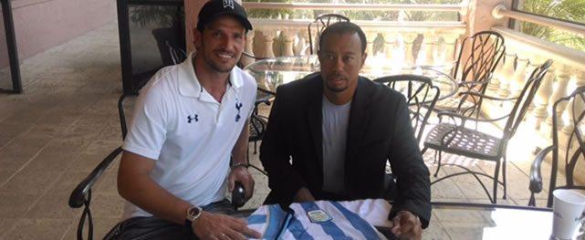 Tiger, fanático de Messi y de la selección Argentina