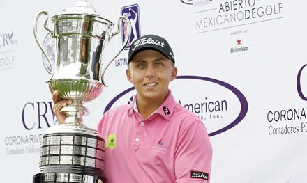 Álvarez se estrena como campeón en PGA TOUR Latinoamérica