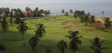 MAZATLAN, MEXICO (OCT. 8, 2014) Vista del hoyo 9, par-cuatro de 383 yardas, del campo de Estrella del Mar Golf, Condos & Beach Resort en Mazatlán, México, donde esta semana se juega el TransAmerican Power Products CRV Open Mazatlán Open. (Enrique Berardi/PGA TOUR)