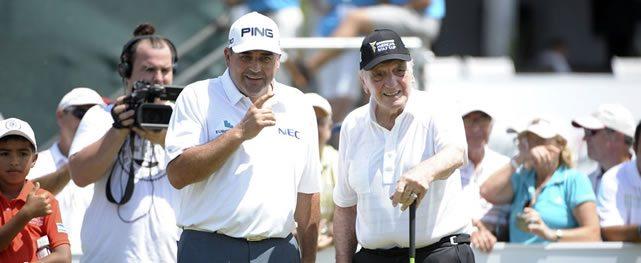 Cambio de líderes en la Bridgestone America's Golf Cup