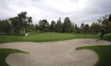ESTADO DE MEXICO, MEXICO (OCT. 14, 2014) - Imagen del hoyo No. 13, par-tres de 225 yardas, del campo del Club de Golf Chapultepec en donde esta semana se juega el 56º TransAmerican Power Products CRV Abierto Mexicano de Golf presentado por Heineken. (Enrique Berardi/PGA TOUR)