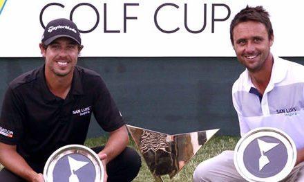 Echenique y Domínguez, la fórmula argentina para ganar la Bridgestone America's Golf Cup