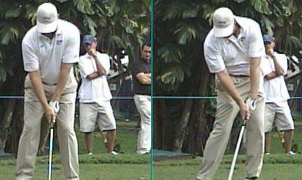 El efecto de impactar bien a la bola