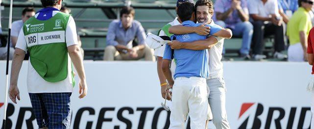 Estadounidenses y argentinos en lo más alto de la Bridgestone America's Golf Cup