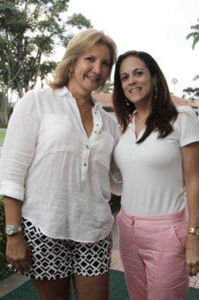 Dolores Saez y Silvie Dentes