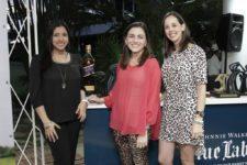 Johamy Molina, Lorena Volpe y Carolina Haiek