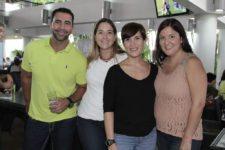 Luis Toro, Raquel Bugalo, Beatriz Urdaneta y María Elisa Arias