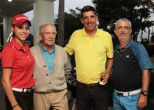 María Andreina Barrero, Julián Fernández, Juan Carlos Gilly y Hernando Alfonzo