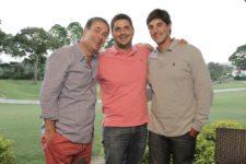 Pablo Monsant, Juan Monsant y Iñaki Larrañaga