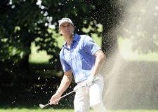 BUENOS AIRES, ARGENTINA - (OCT. 22, 2014) - El estadounidense William Kropp en el hoyo 8 durante el Pro-Am de la Bridgestone America's Golf Cup en Olivos Golf Club. (Enrique Berardi/PGA TOUR)
