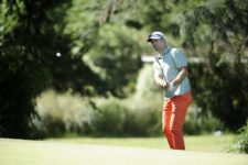 BUENOS AIRES, ARGENTINA - (OCT. 22, 2014) - El exgoleador argentino Gabriel Omar Batistuta fue una de las figuras que participaron en el Pro-Am de la Bridgestone America's Golf Cup en Olivos Golf Club este miércoles. (Enrique Berardi/PGA TOUR)