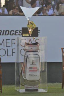 Maleta de Tiger Woods (cortesía Fairway.com.ar Gustavo Álvarez)