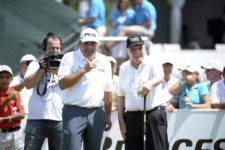 Ángel Cabrera & Roberto De Vicenzo (cortesía Enrique Berardi / PGA LA)