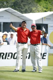 Esteban Esasi & Carlos Franco - Paraguay (cortesía Enrique Berardi / PGA LA)