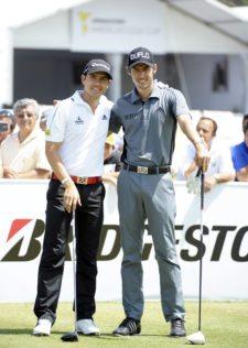 Manuel Villegas & Manuel Merizalde (cortesía Enrique Berardi / PGA LA)