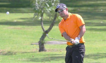 Sergio Alejandro Díaz, campeón del Abierto de Golf Serrezuela Country Club