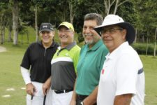Nelson Acconciagiocco , Richard Dubreil, Fernando Pérez Segnini y Julio Castro