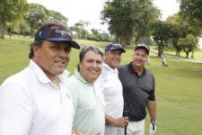Juan Carlos Sánchez, Fernando Alvarez, Juan Carlos Obregón y Henrique Lavie