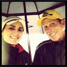 Lexi Thompson & Caddies (cortesía www.golfdigest.com)