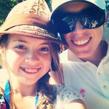 Morgan Pressel y Fanática (cortesía www.golfdigest.com)