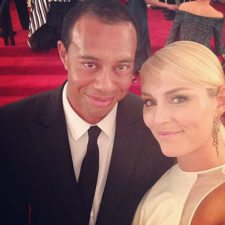 Tiger Woods & Lindsey Vonn (cortesía www.golfdigest.com)