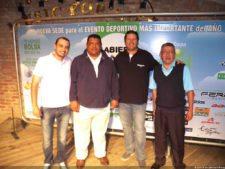 Dennis Meneghini (BGC), Miguel Martínez (Pres. PGA Vzla), Eddy Martin (IZCC) & Álvaro Higuera (CCC)
