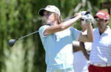 BUENOS AIRES, ARGENTINA (NOV. 27, 2014) - El argentino Tommy Cocha pega su golpes de salida en el hoyo 14 durante la primera ronda del Personal Classic en Las Praderas Club Campos de Golf. (Enrique Berardi/PGA TOUR)
