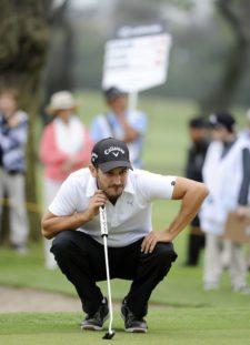 LIMA, PERU (NOV. 1, 2014) - El argentino Julián Etulain durante la tercera ronda del Lexus Perú Open presentado por Scotiabank en el campo de Los Inkas Golf Club. (Enrique Berardi/PGA TOUR)
