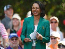 Condolessa Rice & Masters (cortesía www.nydailynews.com) golf-masters