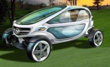 Mercedes-Benz diseña visionario carrito de golf