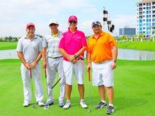 Juan Carlos Vargas, Osca Borda, Pablo Duvillard y Rodrigo Arosemena