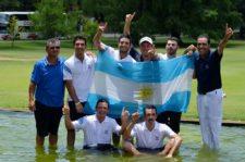 Argentina Campeón Cab. Copa Los Andes