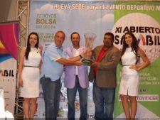 Diego Larrazábal Campeón XI Abierto Sambil