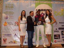 Luís Martínez Sub-Campeón y 1er Gross 1ra Cat. XI Abierto Sambil