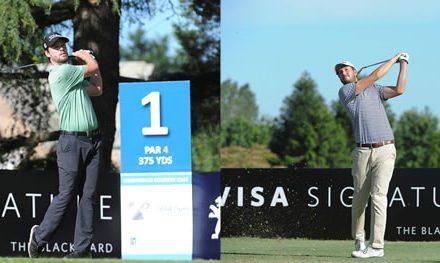 Dos punteros sorpresivos en el 109° VISA Open de Argentina presentado por Peugeot