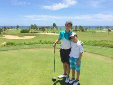 Francisco y Federico Silva en Cap Cana