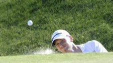 BUENOS AIRES, ARGENTINA (DIC. 6, 2014) - El estadounidense Tyler McCumber en el hoyo 14 durante la tercera ronda del 109º VISA Open de Argentina presentado por Peugeot. Este evento es el último de la temporada 2014 del PGA TOUR Latinoamérica. (Enrique Berardi/PGA TOUR)